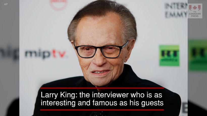 Larry King: The interviewer as interesting and famous as his guests
