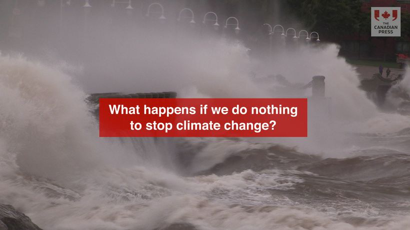 What happens if we do nothing to stop climate change