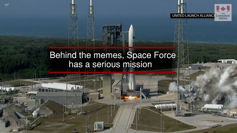 Behind the memes Space Force has a serious mission