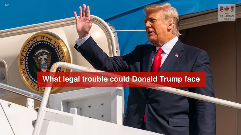 What legal trouble could Donald Trump face