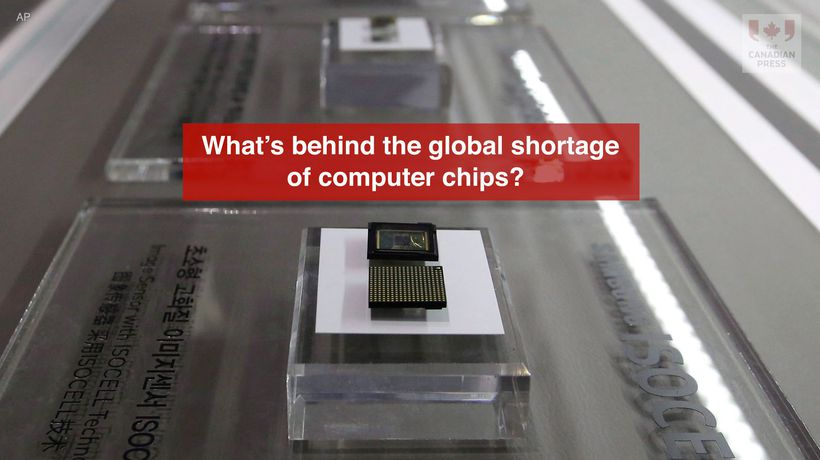 What's behind the global shortage of computer chips