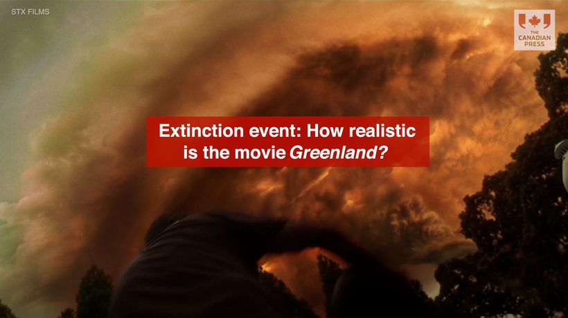 Extinction event How realistic is the movie Greenland