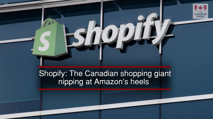 Shopify: The Canadian shopping giant nipping at Amazon's heels