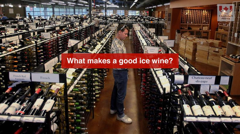 What makes a good ice wine?