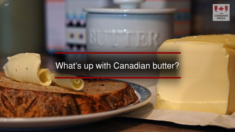 What's up with Canadian butter?