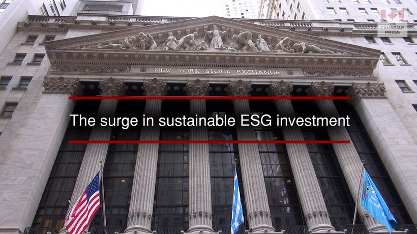 The surge in sustainable ESG investment