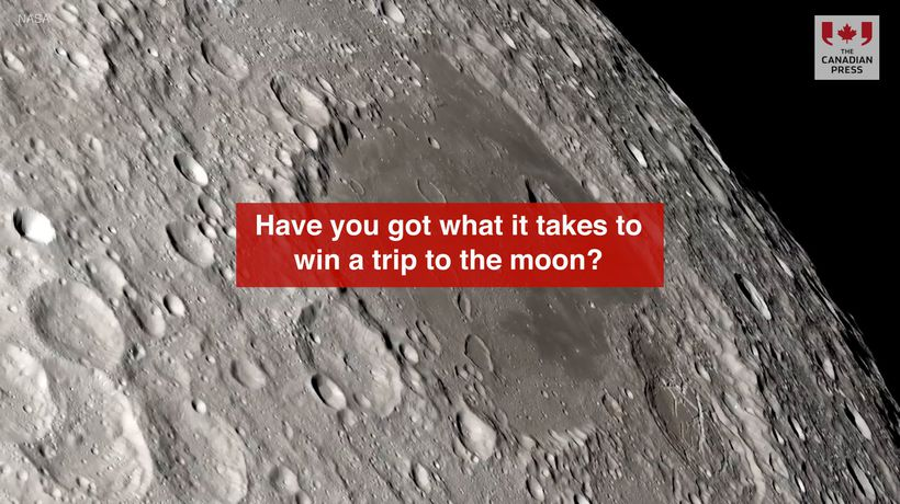 Have you got what it takes to win a trip to the moon?