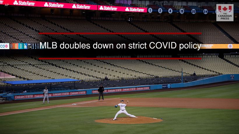 MLB doubles down on strict COVID policy