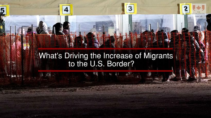 What's Driving the Increase of Migrants to the U.S. Border?