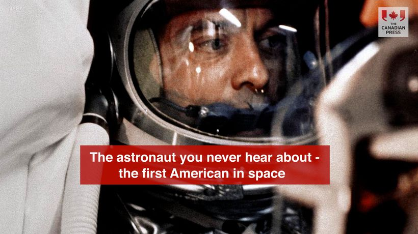 The astronaut you never hear about - the first American in space