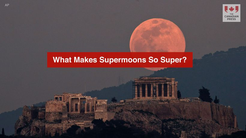 What Makes Supermoons So Super?
