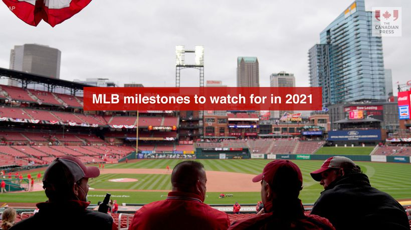 MLB milestones to watch for in 2021