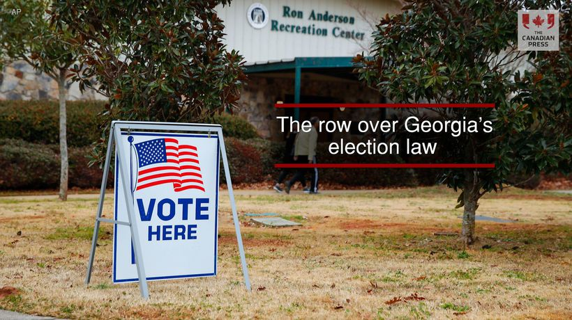 The row over Georgia's election law