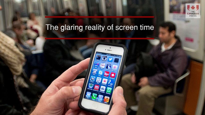 The glaring reality of screen time