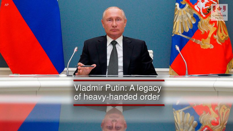 Vladmir Putin: A legacy of heavy-handed order