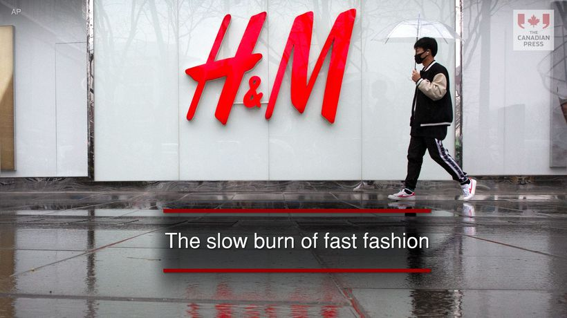 The slow burn of fast fashion