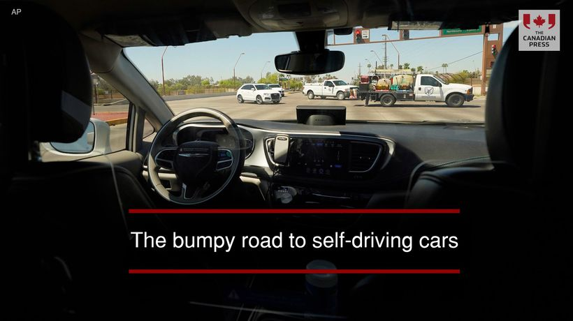 The bumpy road to self-driving cars