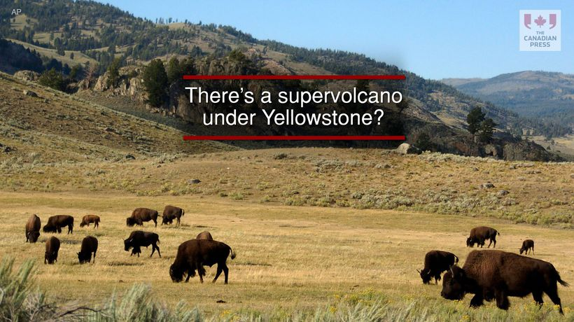 There's a supervolcano under Yellowstone?