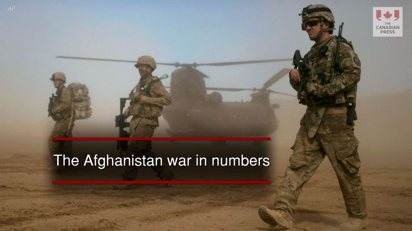 The Afghanistan war in numbers