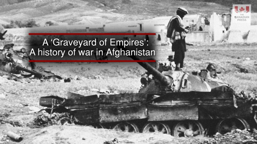 A 'Graveyard of Empires'- A history of war in Afghanistan