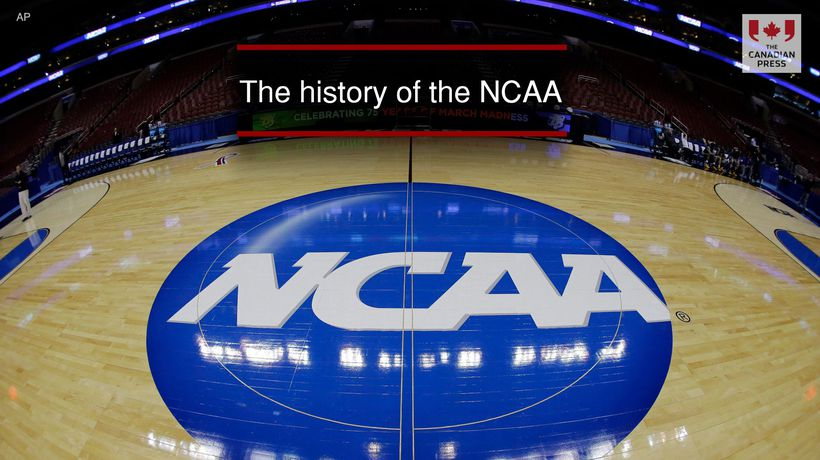 The history of the NCAA