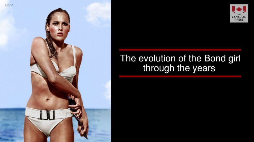 The evolution of the Bond girl through the years