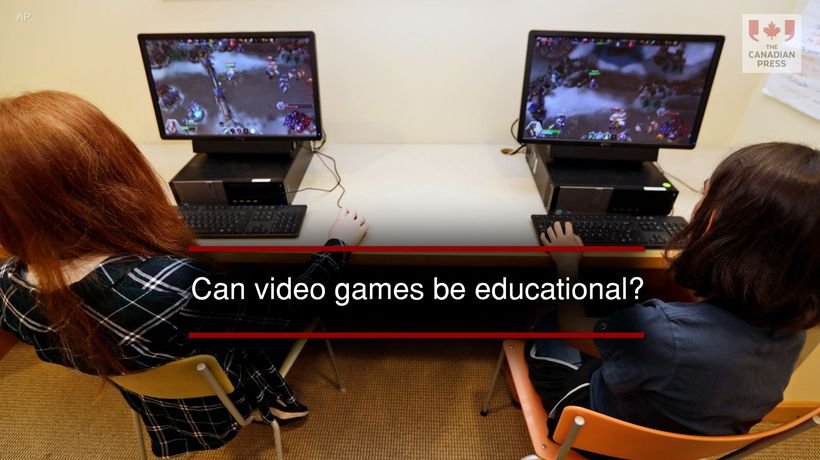 Can video games be educational?