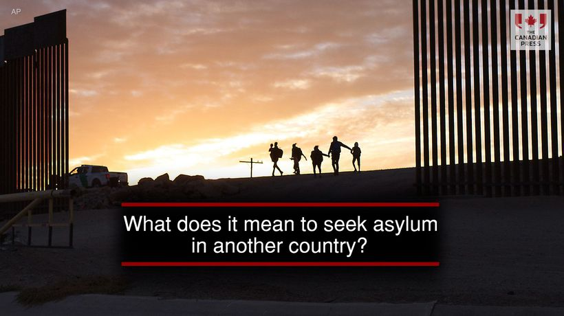What does it mean to seek asylum in another country?