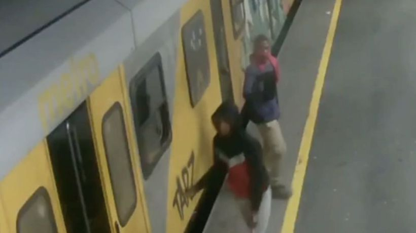 CCTV footage released of Cape Town Metrorail train arson suspects