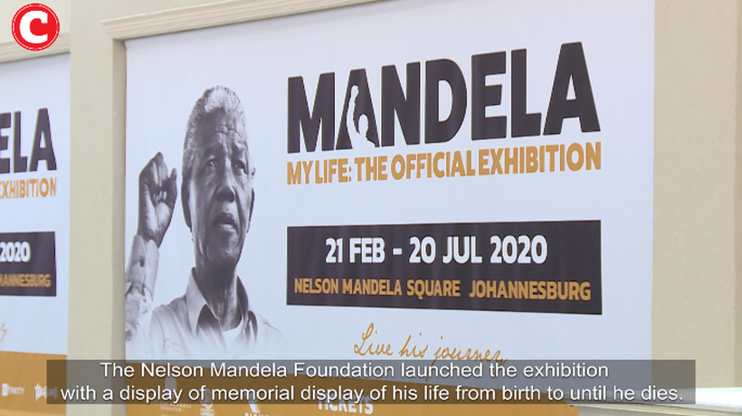 The exhibit of Nelson Mandela and his journey