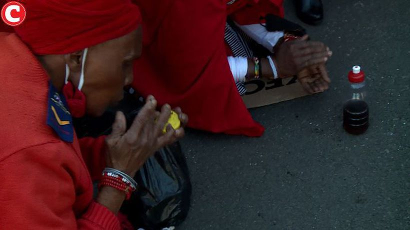 Traditional healers protest against vaccine trials on South Africans