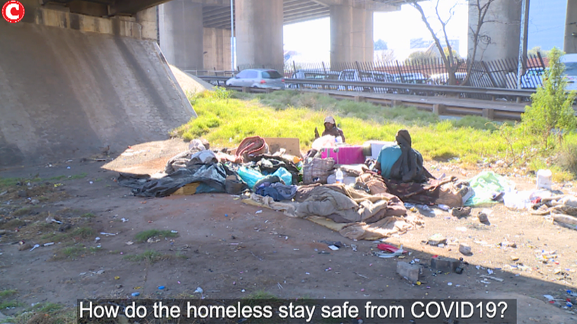 How do the homeless stay safe from COVID19