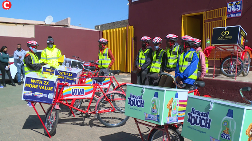 Soweto gets bicycle grocery delivery service