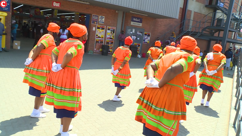 Skeem Sam Crew celebrates heritage day at Alex mall