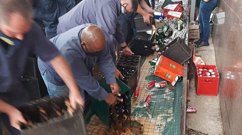 Gauteng MEC for community safety to join the provincial commissioner at the disposal of liquor.