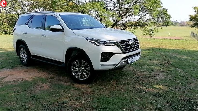 What's new in the updated Toyota Fortuner