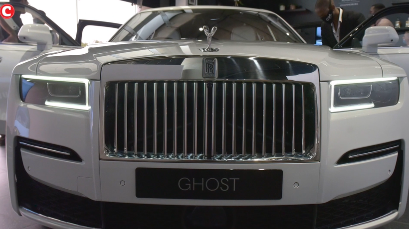 The first viewing of the new 2021 Rolls Royce Ghost happened at Daytona in Melrose Arch.