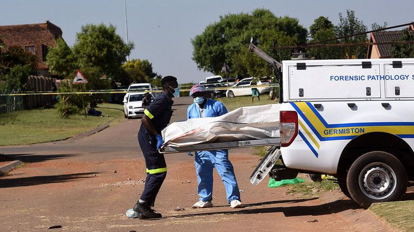 Four suspects shot dead and one arrested following a CIT robbery in Langlaagte