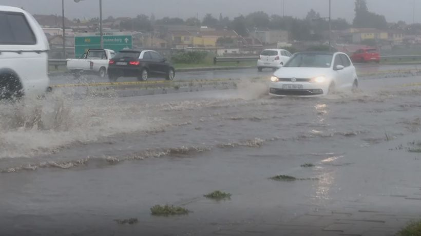 Flooding in parts of Soweto