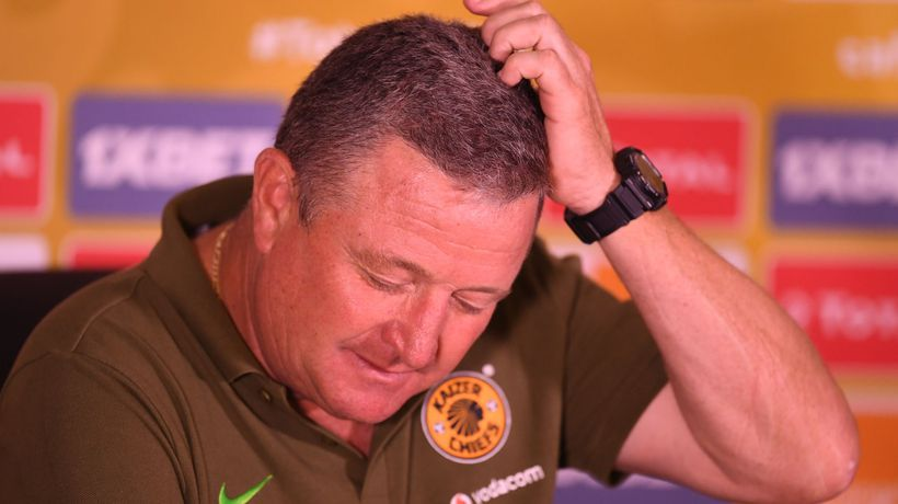It's worrying times for Kaizer Chiefs