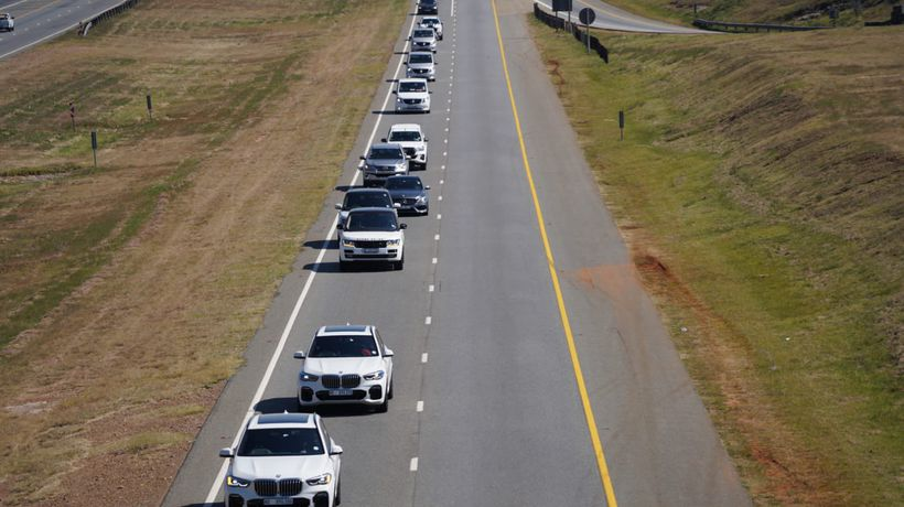 The mortal remains of Her Majesty depart for KwaKhangelamankengane Palace, Nongoma