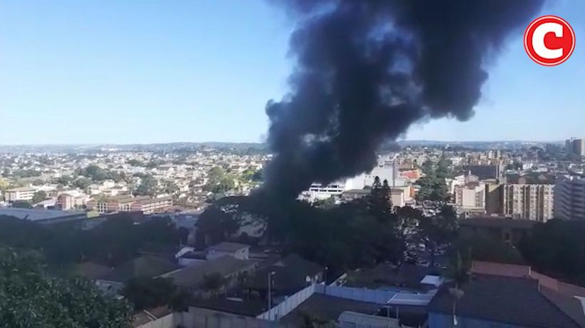 Fire at textile factory in Overport