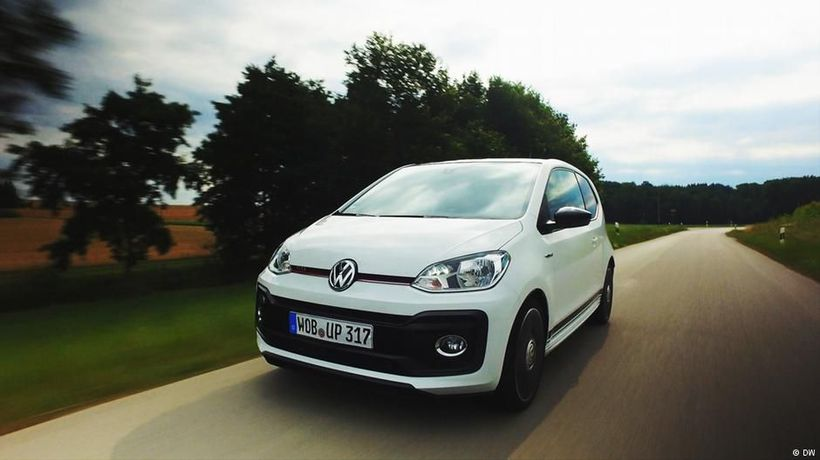 The snappy little VW Up! GTI