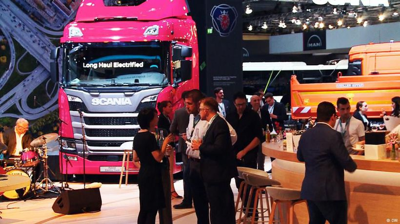 The Hannover IAA Commercial Vehicles 2018
