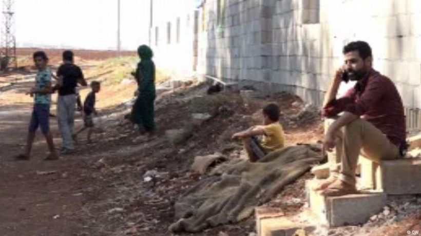 Turkey's wall to keep Syrians out