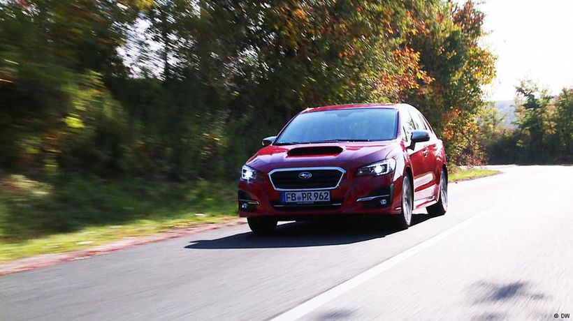On the road with the Subaru Levorg