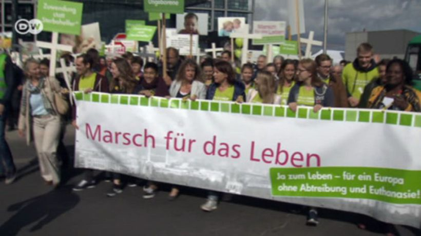 Debate about abortion in Germany reignited