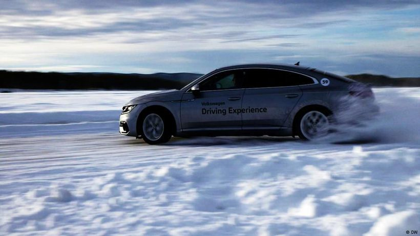 On Ice!: VW Arteon