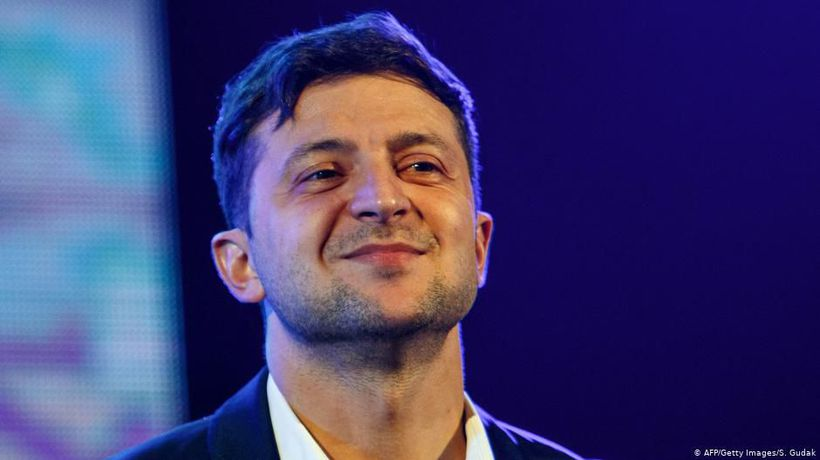 Ukraine: A comedian gets serious