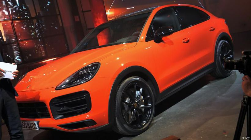 World premiere: Porsche Cayenne Coupe